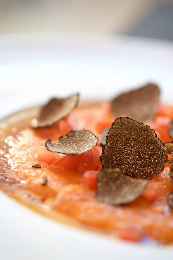 Sushi Roku Salmon Carpaccio