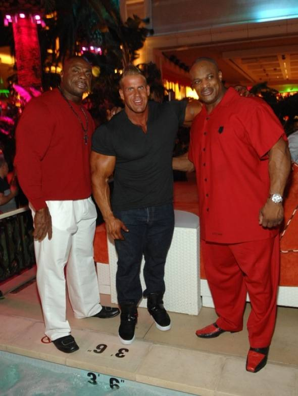 Toney Freeman, Jay Cutler, Ronnie Coleman @ Surrender 091711