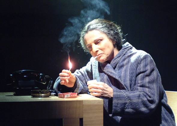 Tovah Feldshuh in Golda's Balcony Photo Credit Aaron Esptein