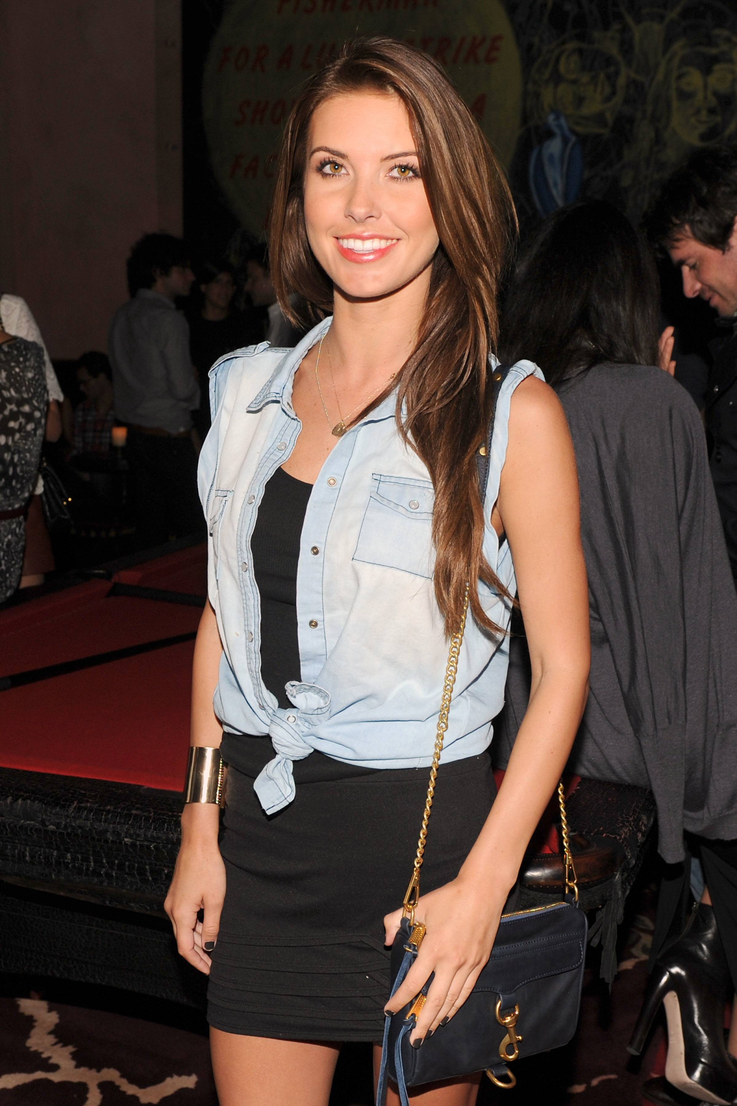 pomAudrina Patridge at Rebecca Minkoff After Party Hosted by POM Wonderful at the Rose Bar, Gramercy Park Hotel 2
