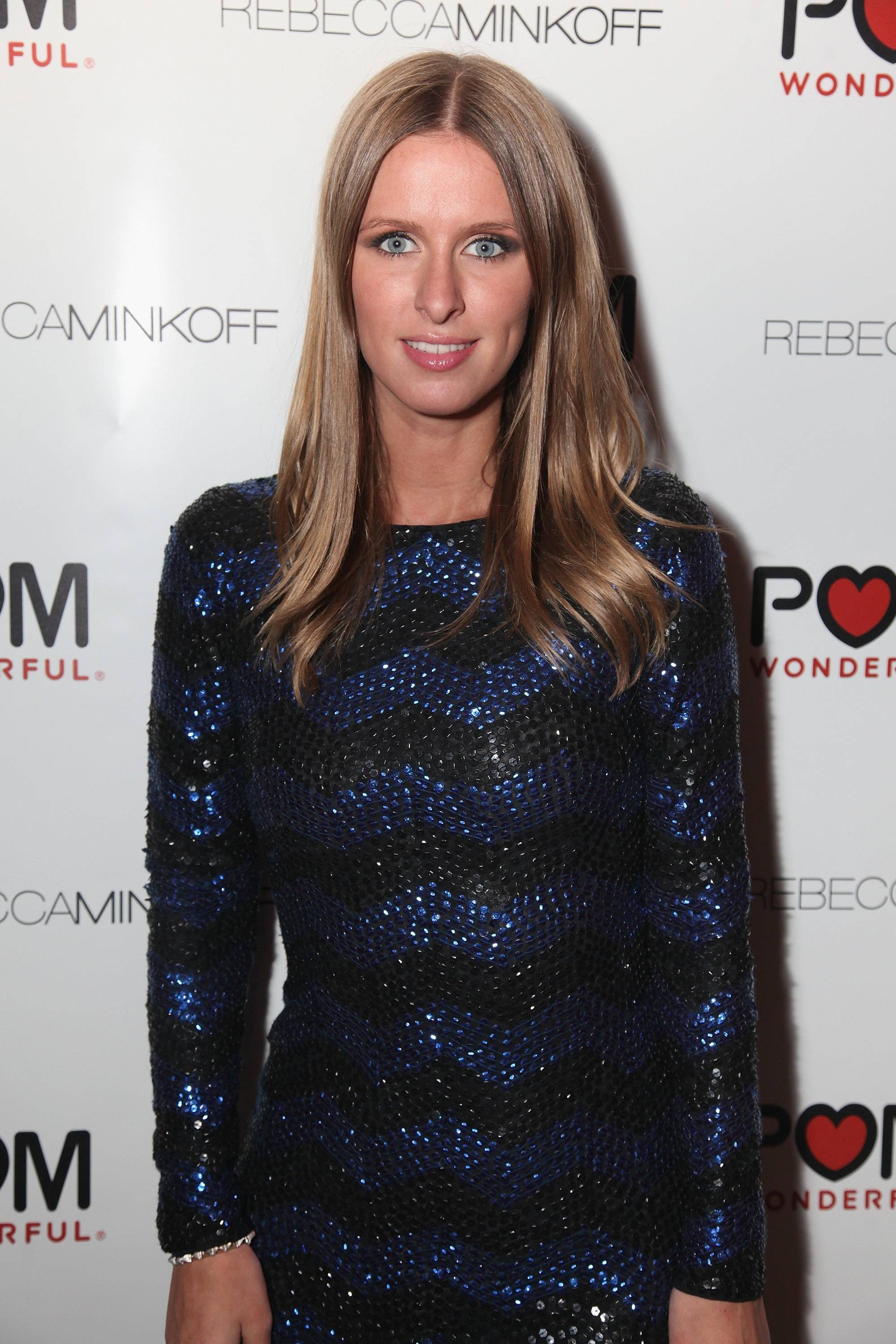 pomNikki Hilton at the Rebecca Minkoff After Party Hosted by POM Wonderful at the Rose Bar, Gramercy Park Hotel