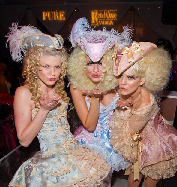 Angel McCord, Rachel McCord and Annalynne McCord