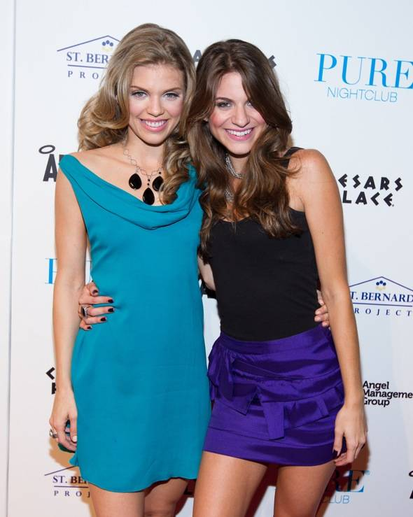annaLynne McCord and Rachel McCord