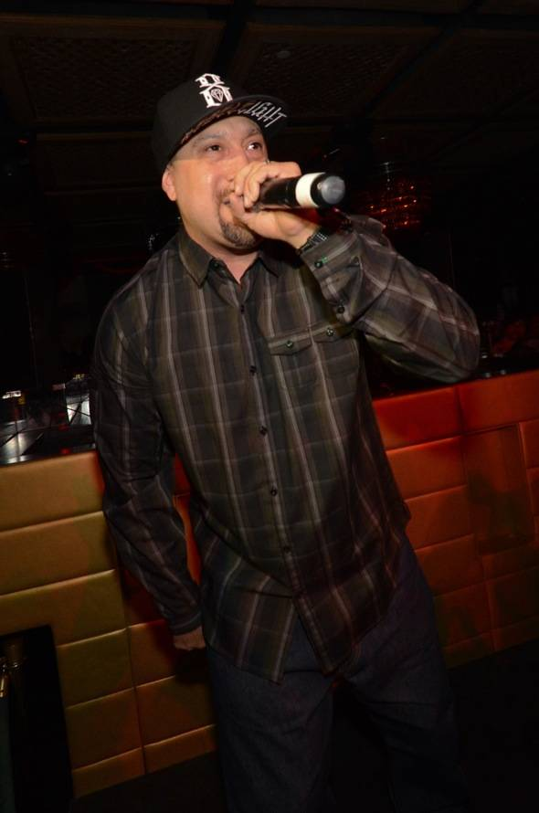 B-Real of the group, Cypress Hill, performs at LAVO