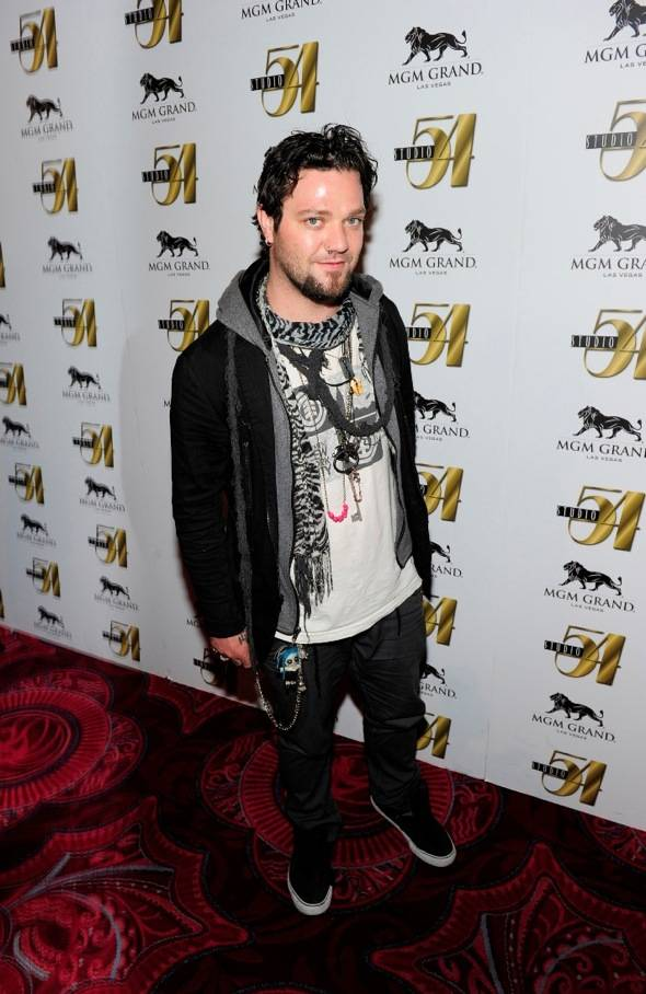 Bam Margera on red carpet at Studio 54, Las Vegas 10.01.11