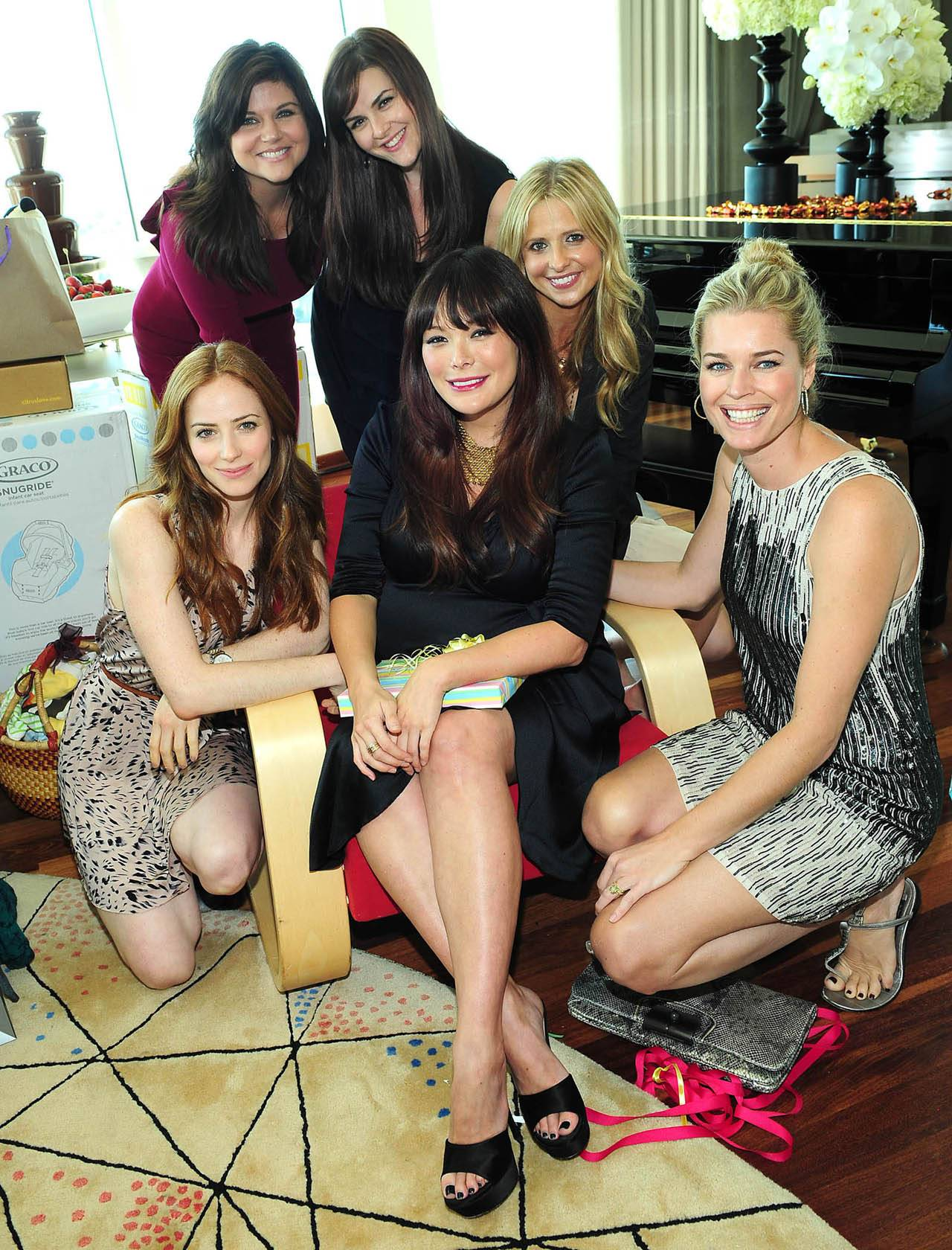 Lindsay Price,Jaime Ray Newman,Sarah Michelle Gellar,Rebecca Rom