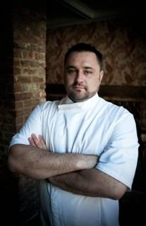 Chef Christopher Rendell of Mary Queen of Scots