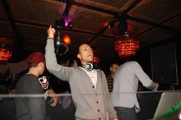 DJ Vice celebrates his birthday at LAVO