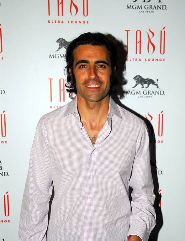 Dario Franchitti at Tabu Ultra Lounge, Las Vegas 10.14.11