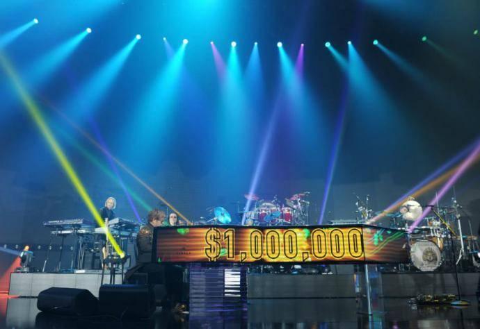 Elton Johns million dollar piano