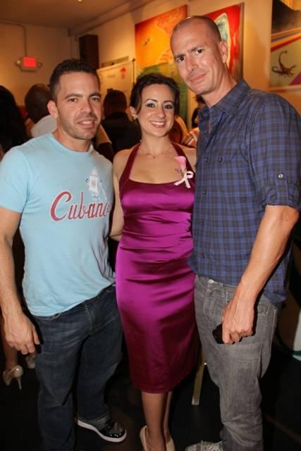 Enrique Jordan, Priscilla Jade, George Aderhold