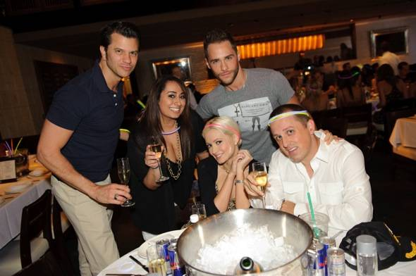 Holly Madison_Josh Strickland and friends_LAVO Brunch