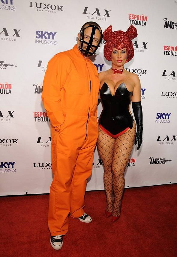 Ice-T and Coco_LAX Nightclub_Red Carpet_10.29.11