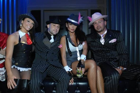 JWoww, Mathews and Edgars at Chateau Nightclub & Gardens