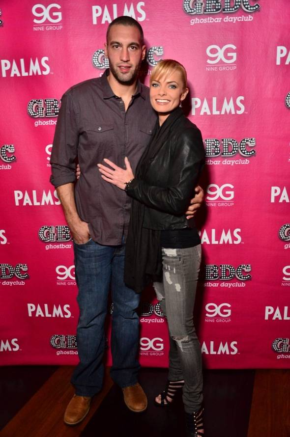 Jaime Pressly and Boyfriend Photo by Aaron Garcia