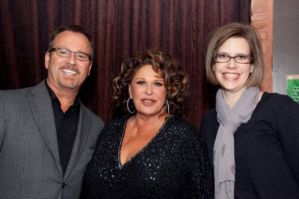 Jennifer Morss, Lainie Kazan, Scott Washburn (AFAN Vice President)