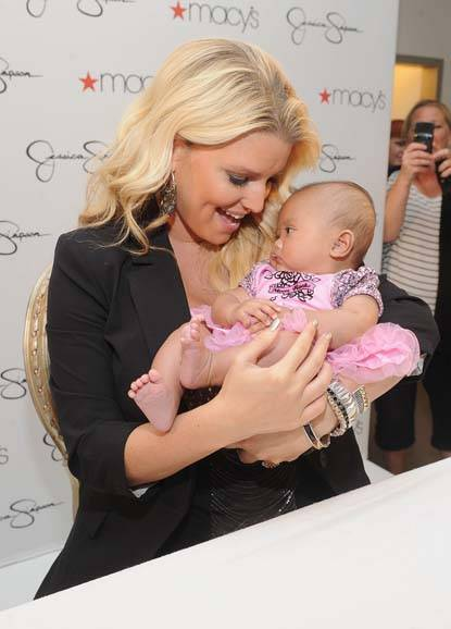 Jessica Simpson and Baby
