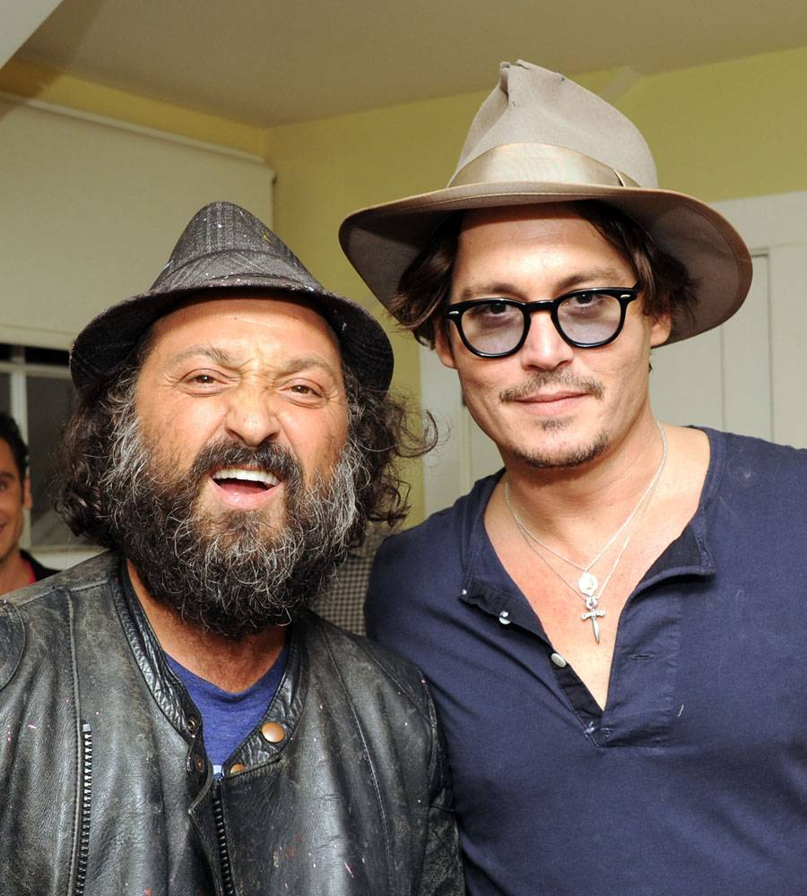 MR. BRAINWASH AND JOHNNY DEPP