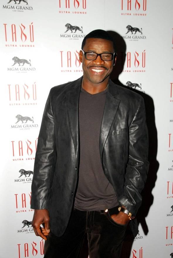 Michael Irvin at Tabu Ultra Lounge, Las Vegas 10.14.11