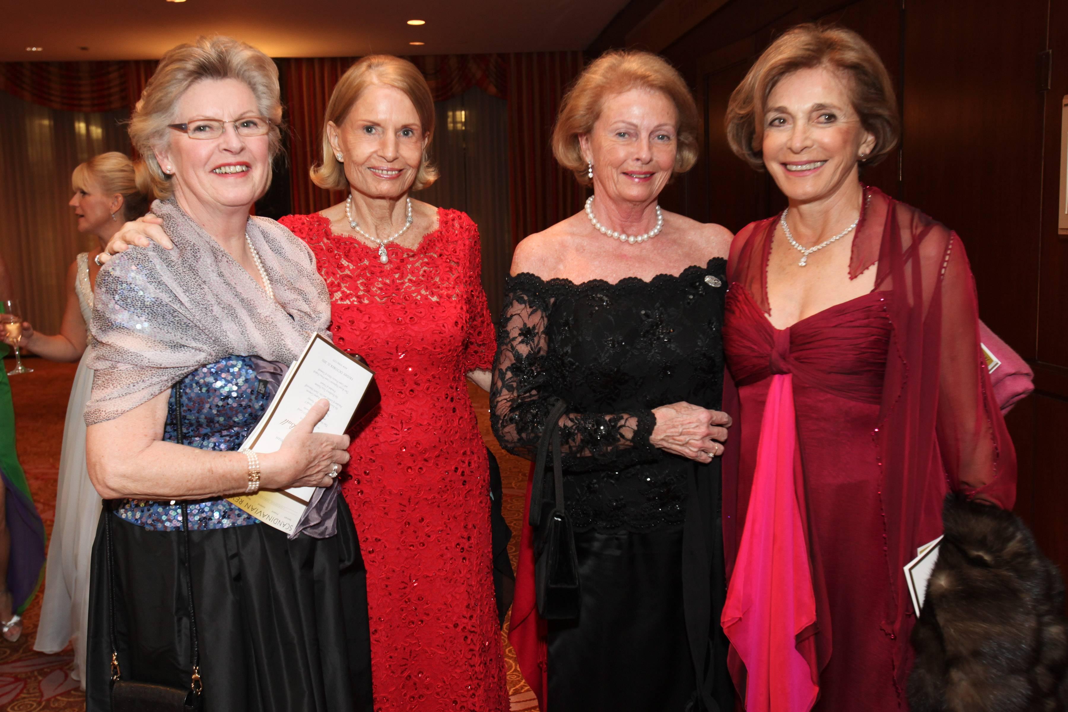 Mrs Stolt-Nielsen and friends