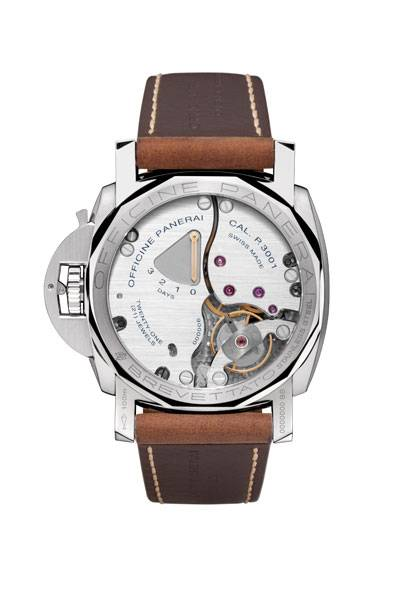 Crystal Case Back Reveals 3-Day Power Reserve