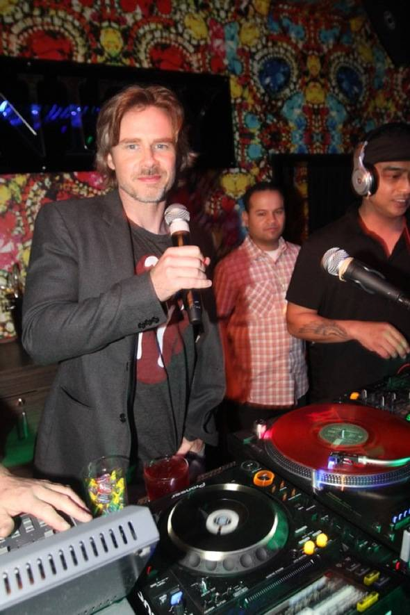 Sam Trammell10.29.11DJbooth