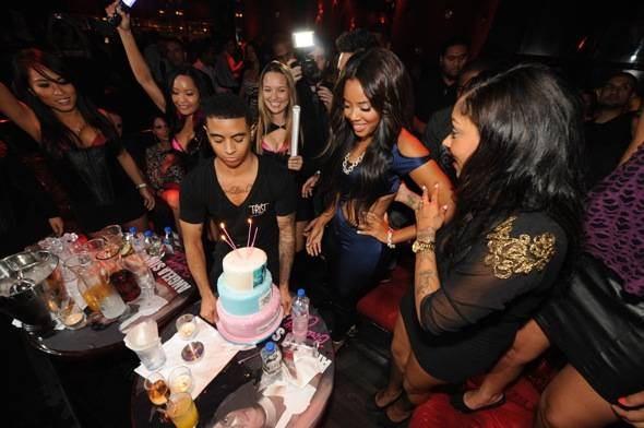 Tryst - Angela Simmons Cake 1