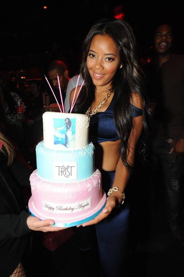 Tryst - Angela Simmons Cake 3