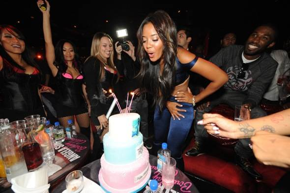 Tryst - Angela Simmons blowing out candles (1)