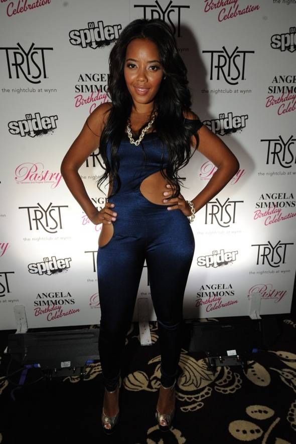 Tryst - Angela Simmons red carpet