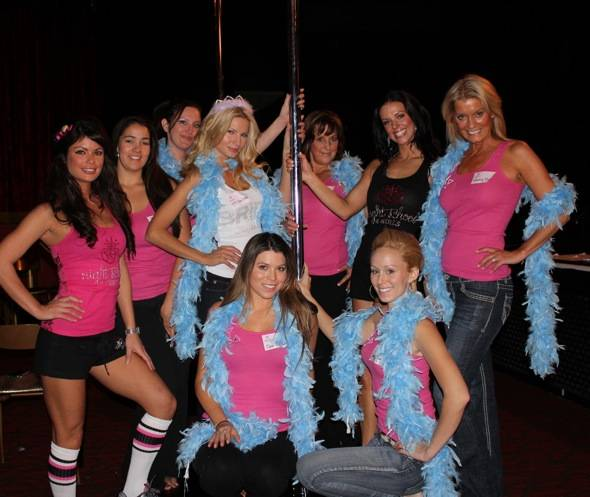 Angela Marcello, Laura Croft and friends at Night School 4 Girls