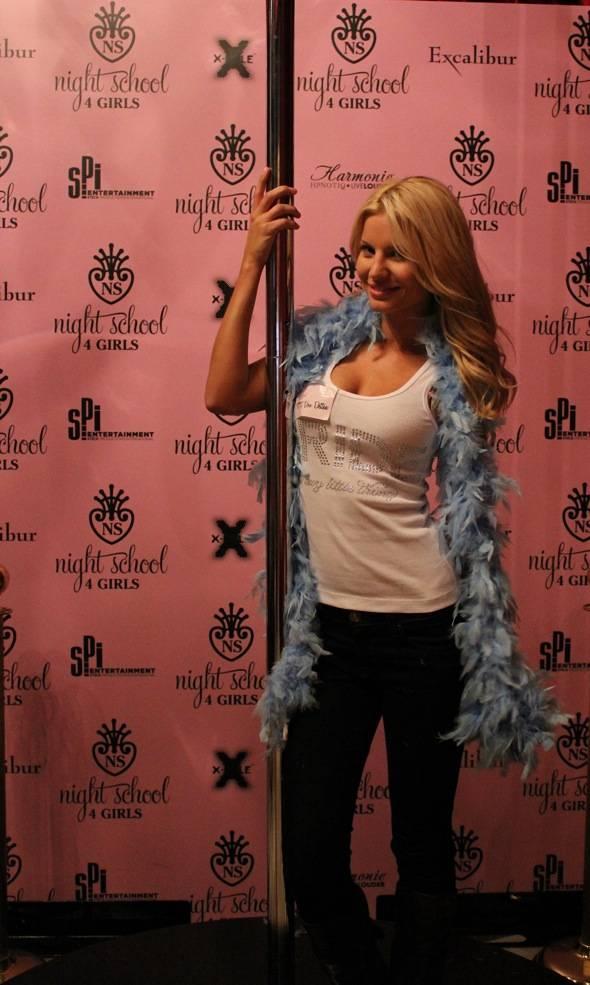 Angela Marcello at Night School 4 Girls