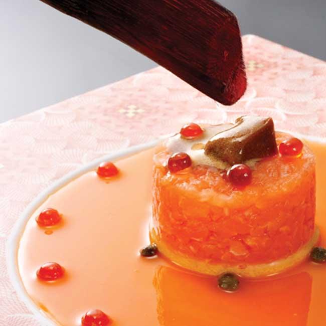 AudemarSponsoredTime__0013_MEGU Salmon Tartare, Ikura Sauce & Caviar