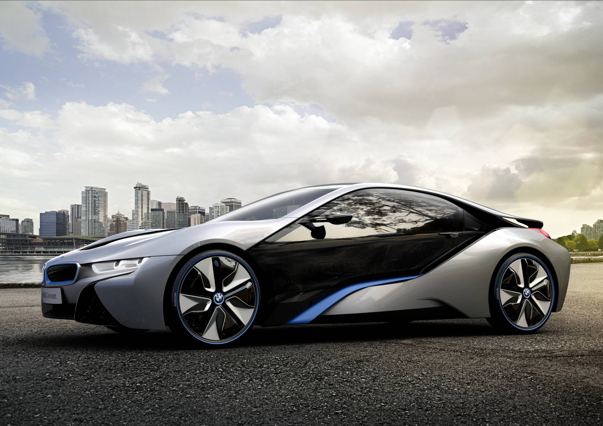 Bmw I8 Concept Born Electric Haute Living