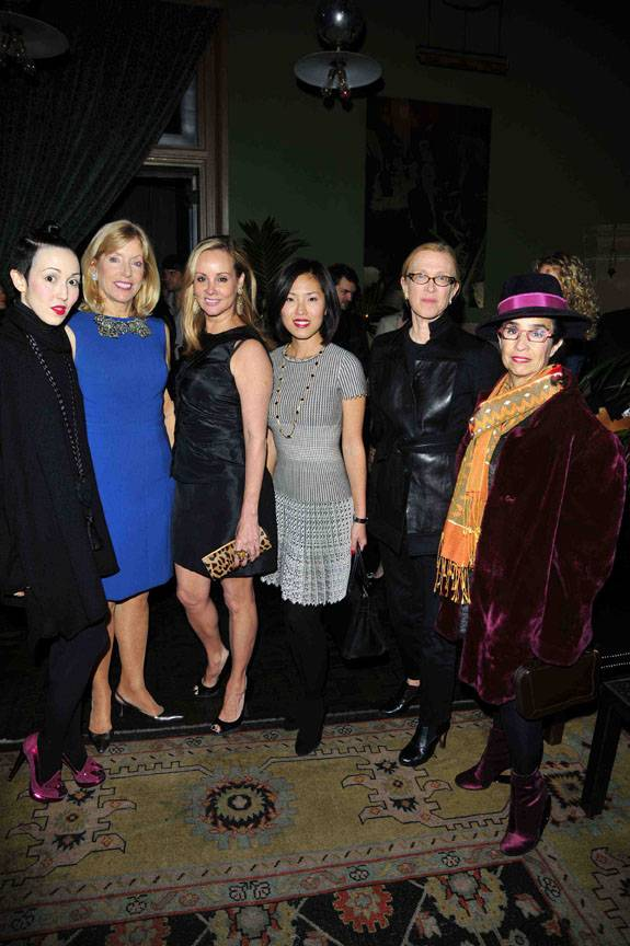 From left: Michelle Harper, Liz Peek, Yaz Hernandez, Ji Eun Wax, Susan Posen, and Valerie Steele.