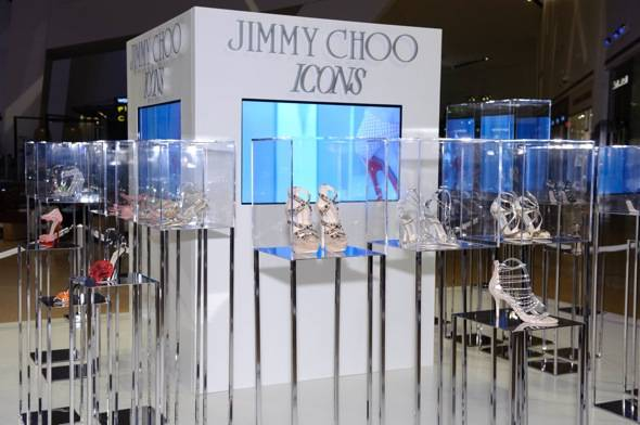 Crystals – Jimmy Choo ICONS Exhibit 07 (Photo credit Al Powers, courtesy of Jimmy Choo)