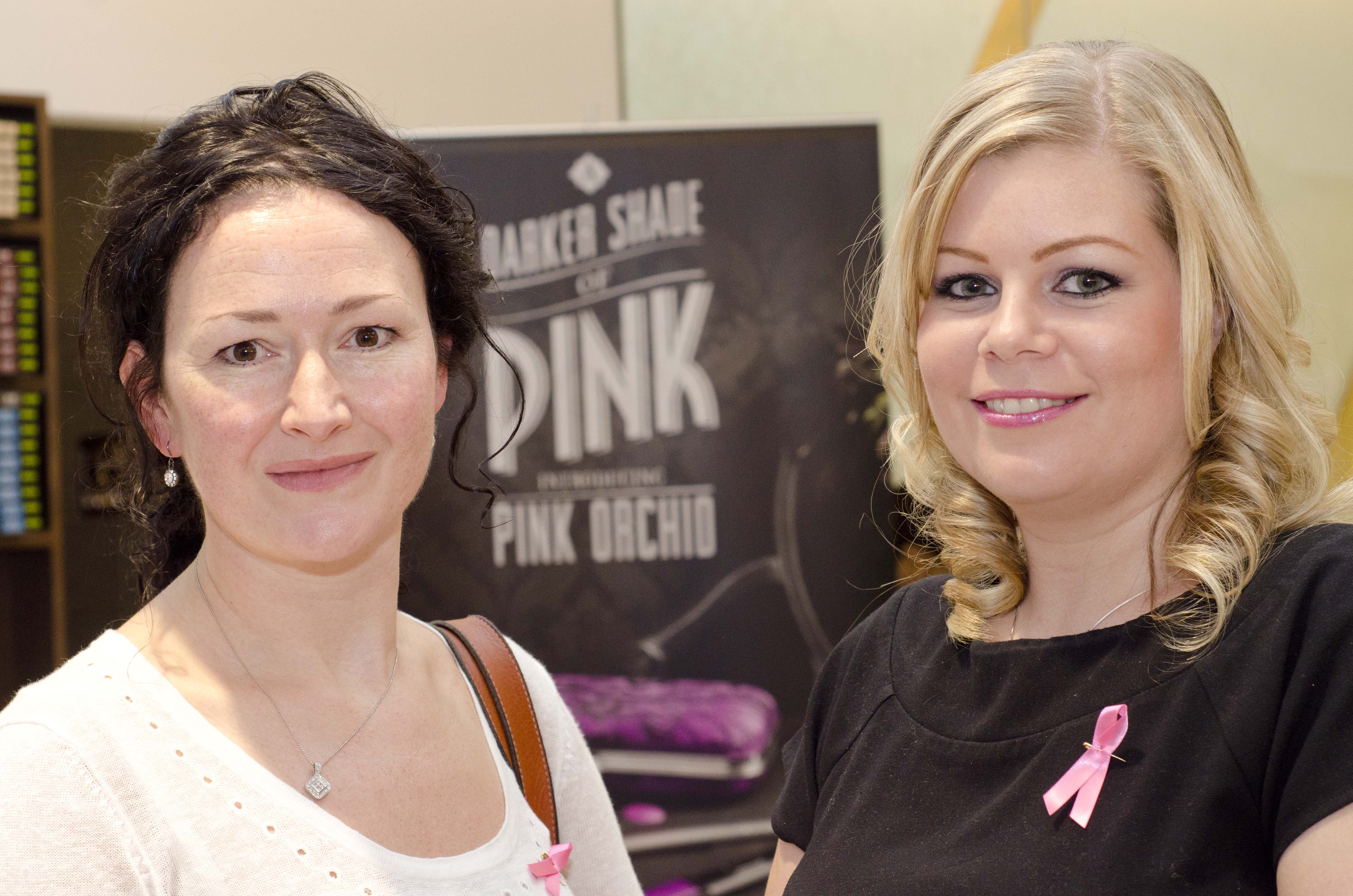 Sisters Beauty Lounge Breast Cancer Awareness