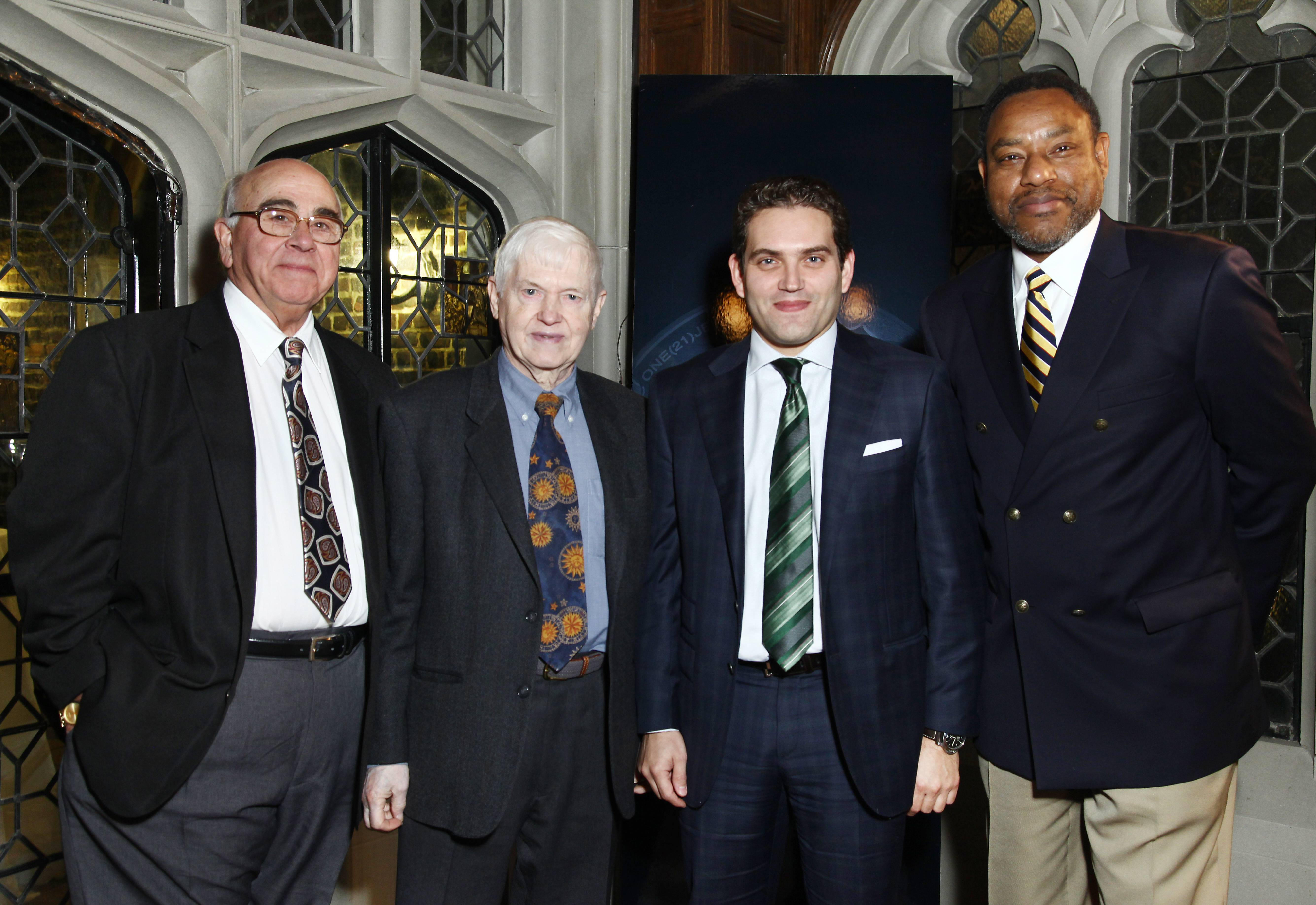 Dr. Anthony Aveni, Dr. Owen Gingerich, Panerai North America President Rafael Alvarez, Dr. Derrick Pitts