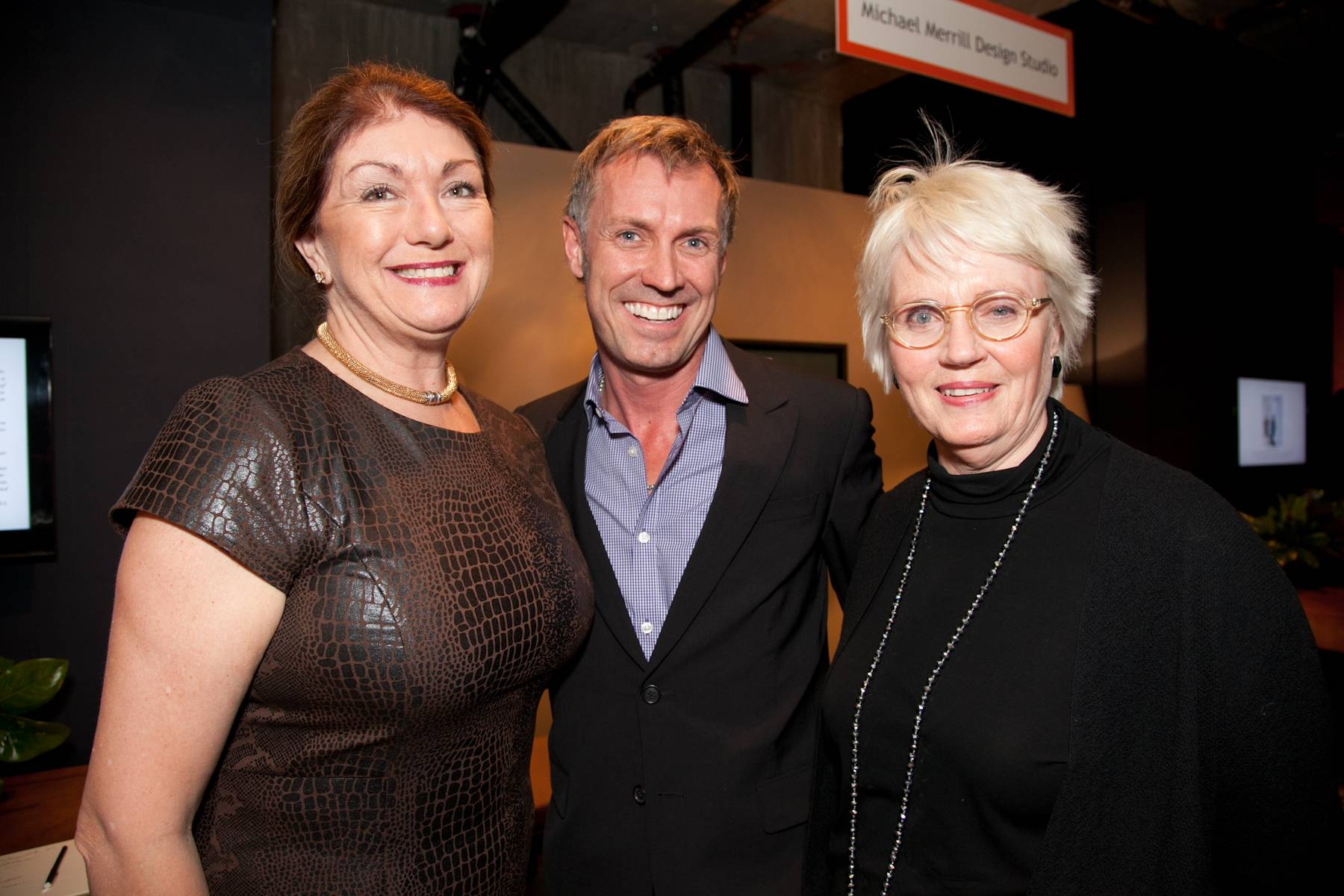 Dwell President Michela O'Connor Abrams, Designer David Mast and Design Lab Creative Director Nancy Van Natta