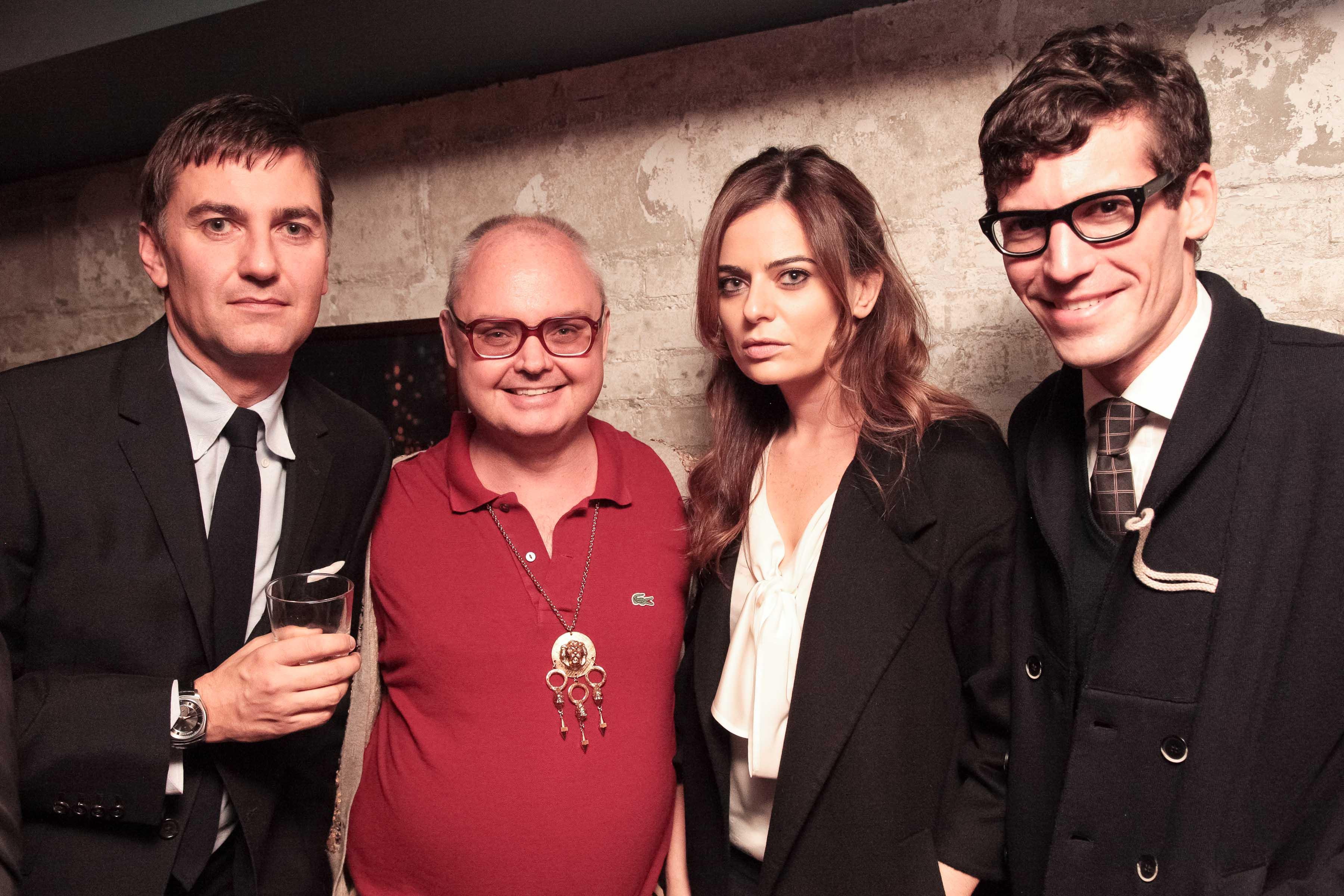 Euan Rellie, Mickey Boardman,Pamela Berkovic, Martin Marks