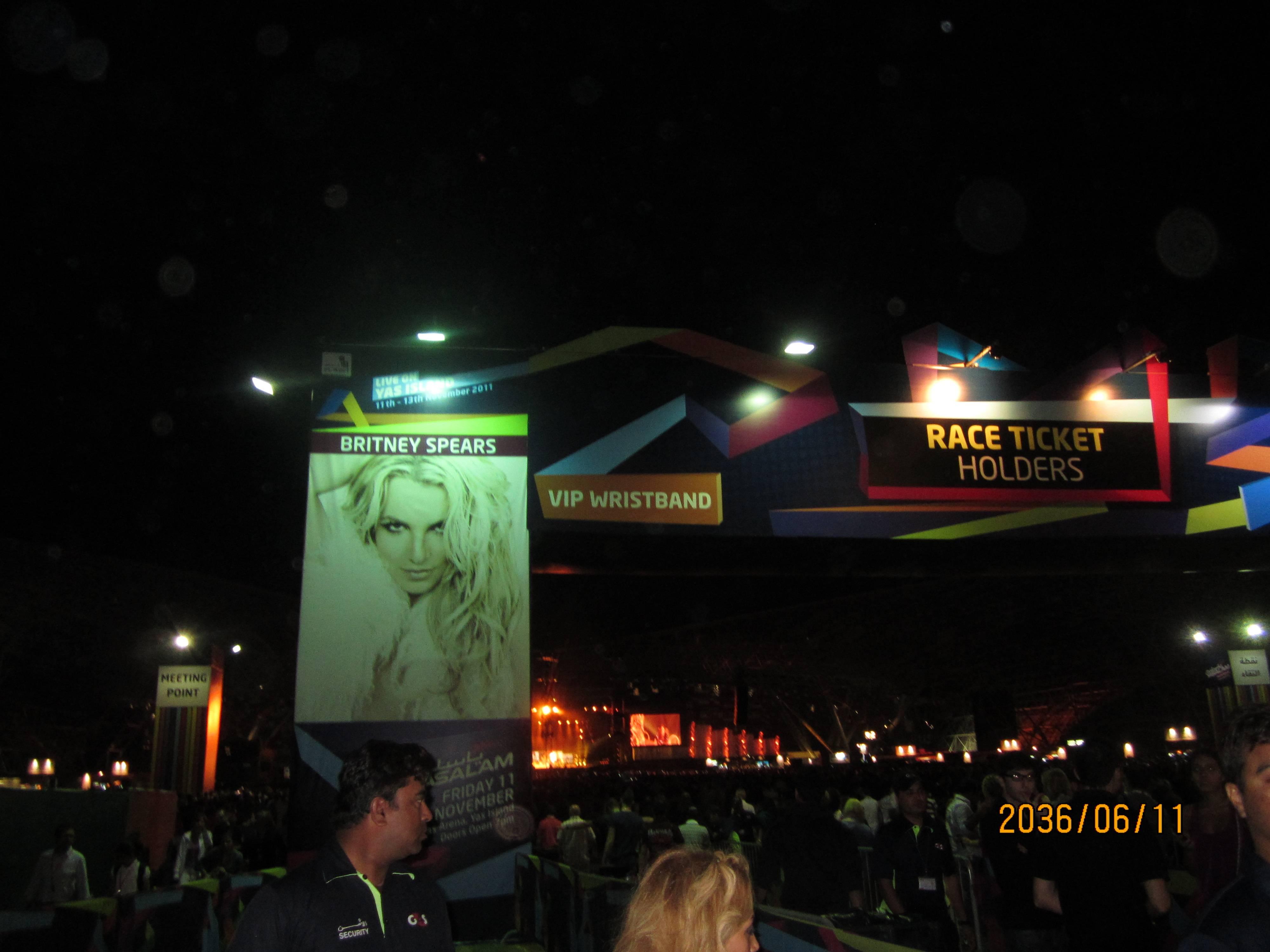 britney's concert