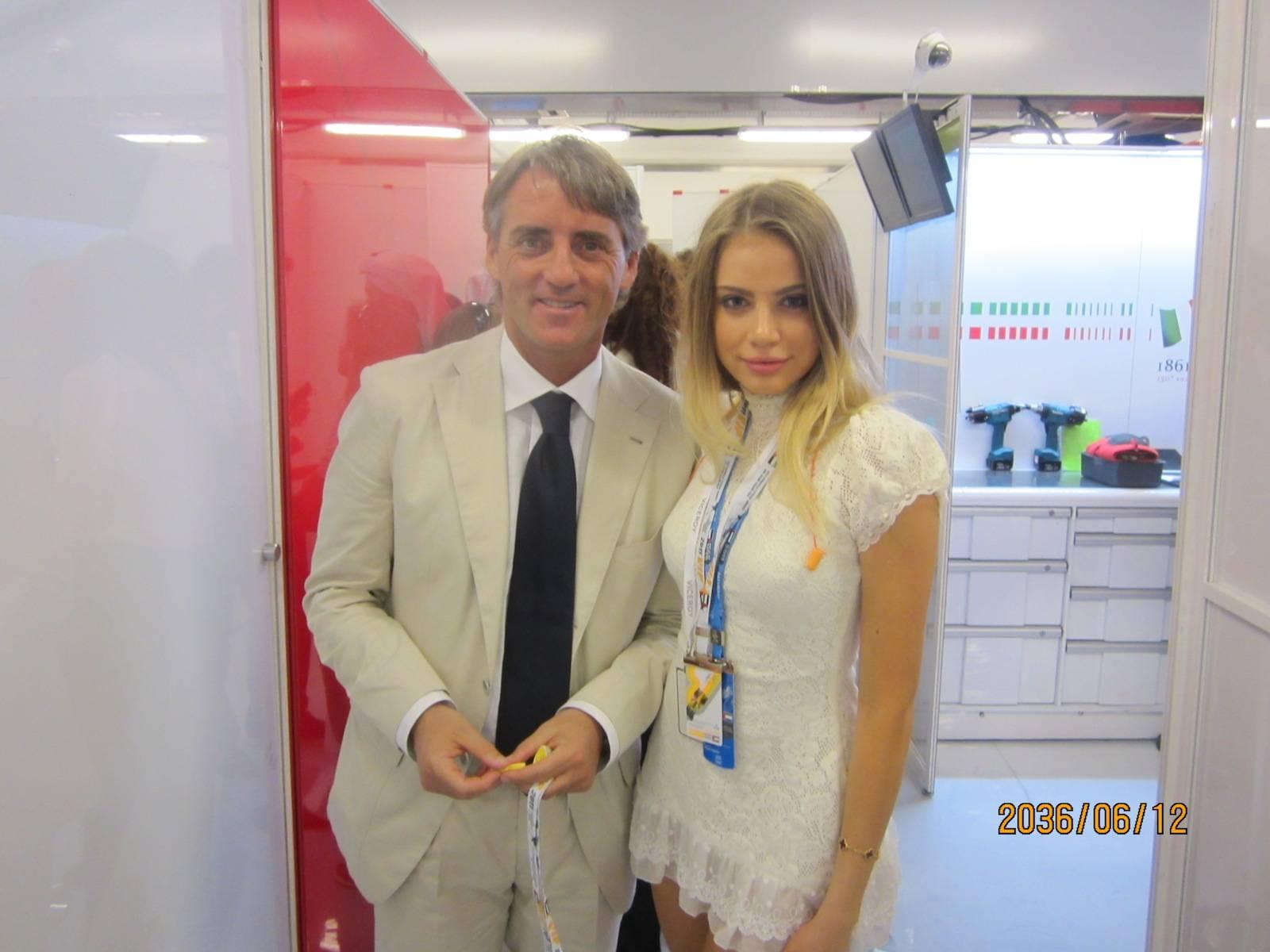 trainer Roberto Mancini