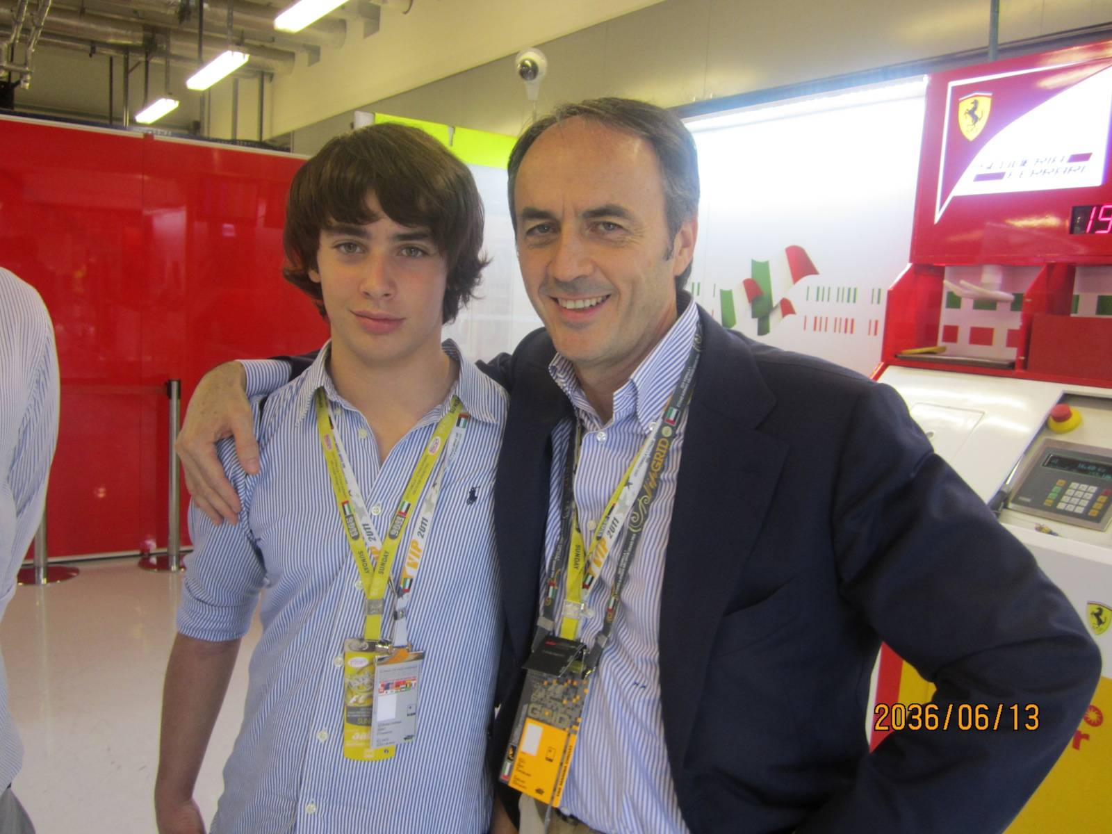 Nerio Alessandri, owner and founder of TechnoGym and son