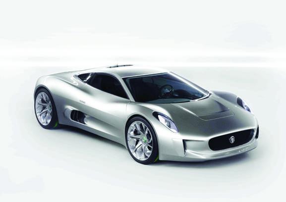 HAUTE AUTO: Jaguar C-X75 A Winning Concept