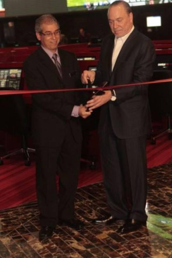 John Caparella and Lee Amaitis Ribbon Cutting