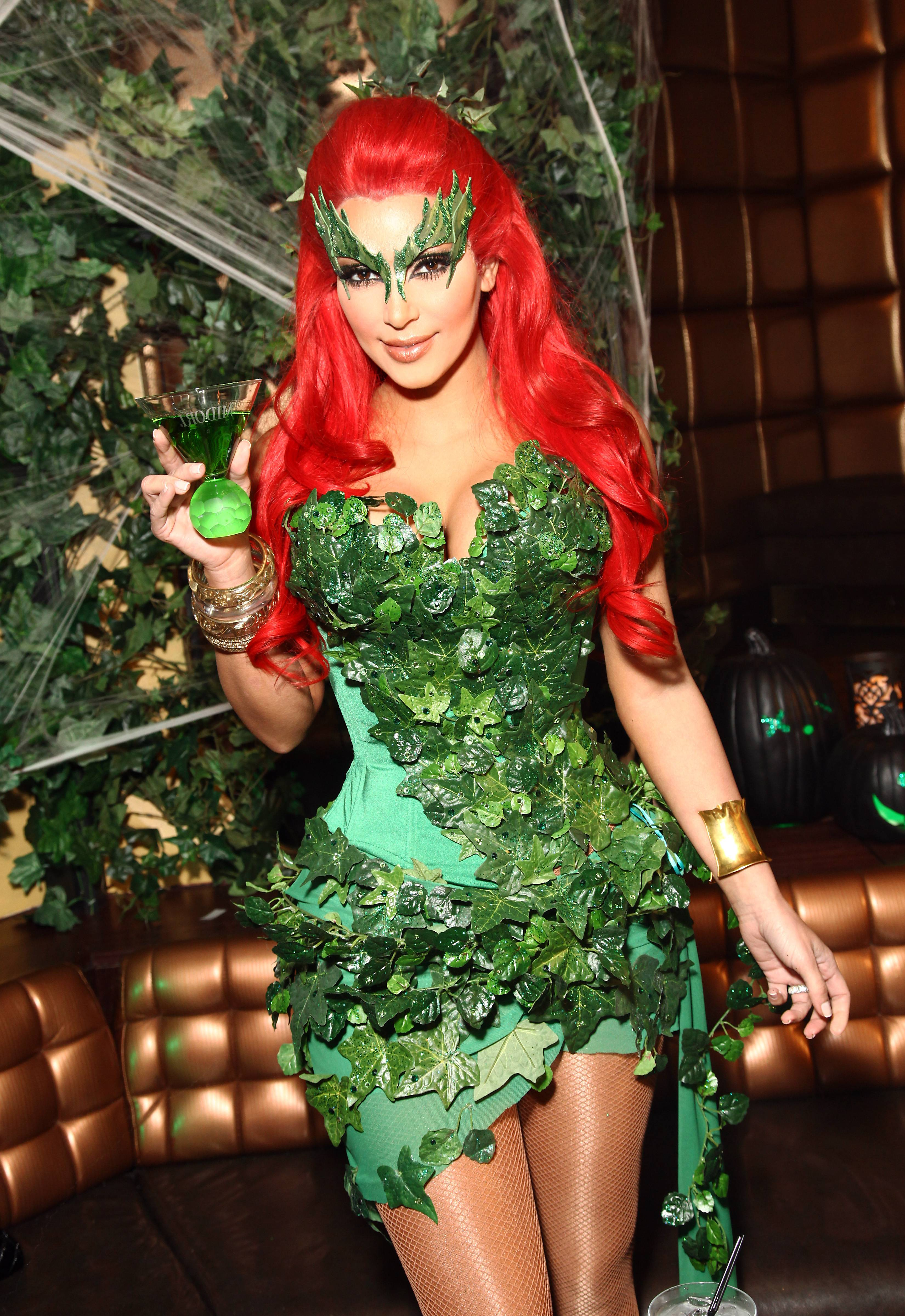 how to make poison ivy mask