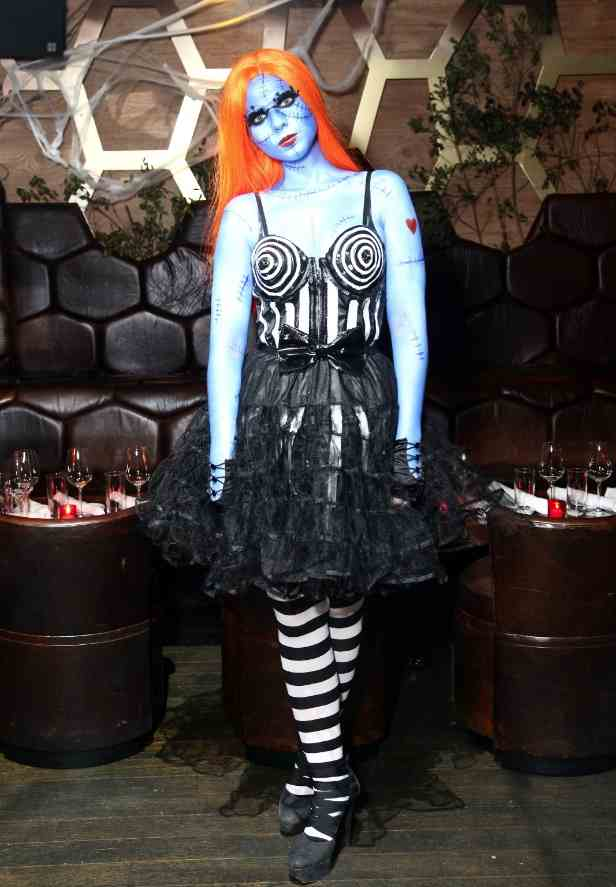 Michelle Trachtenberg at Gypsy Halloween at The Darby[2][2]