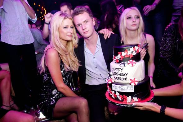 Paris and Barron Hilton_Marquee
