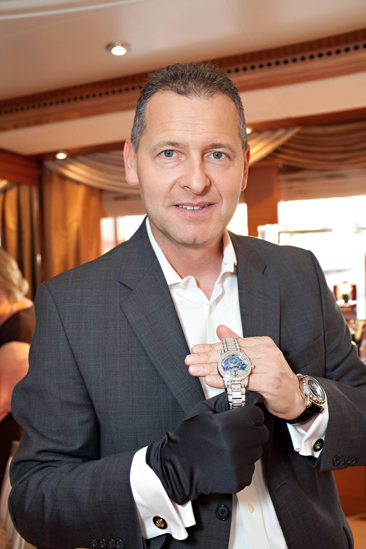 Patrik Hoffmann with 1.1 Million Dollar Royal Tourbillion Timepiece