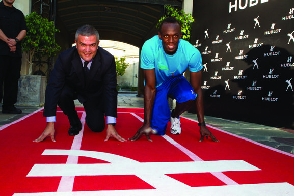 Ricardo Guadalupe, Usain Bolt 2
